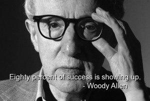 Woody allen, quotes, sayings, deep, wise, success, brainy