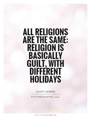 Religion Quotes Guilt Quotes