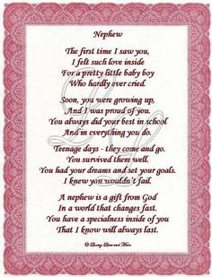 ... Quotes, Nephew Aunt Quotes, Aunts Quotes, Nephew And Aunt Quotes, I