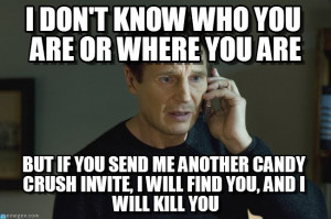 Thoughts about this memorable line from Taken? A legit macro meme used ...