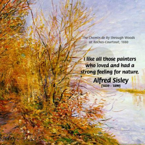 alfred_sisley_nature_quote_tile_coaster.jpg?height=460&width=460 ...