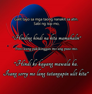 Inspirational Love Quotes Tagalog For Him
