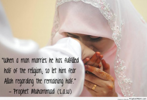 ï·º on Marriage - Islamic Quotes About Romantic Love, Marriage ...