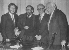 Gianni Vattimo, Umberto Eco, Luigi Pareyson, Hans-Georg Gadamer