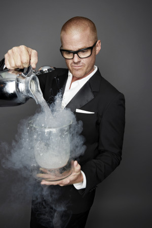 ... Heston Blumenthal is a name that creates instant recognition across