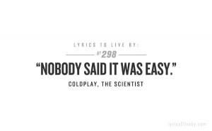 coldplay, lyrics, quotes