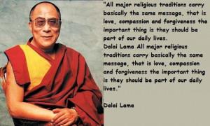 Dalai Lama Quotes On Life
