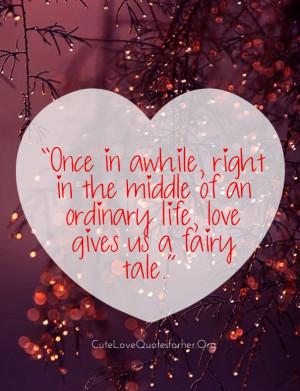 Cute Wedding Quotes about Love