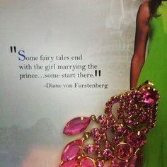 Diane von Furstenberg quote...