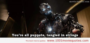 Age of Ultron Avengers Quotes