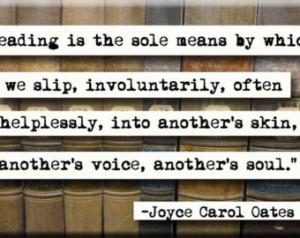 Joyce Carol Oats Quote Magnet or Po cket Mirror (no.284) ...