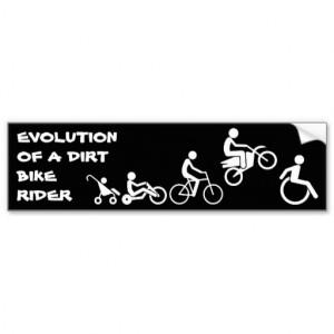 evolution_of_a_rider_dirt_bike_motocross_bumper_st_bumper_sticker ...