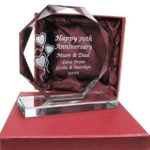 70th Anniversary Wedding Gift Ideas : 70th Wedding Anniversary Gifts, Platinum Wedding Anniversary Gifts