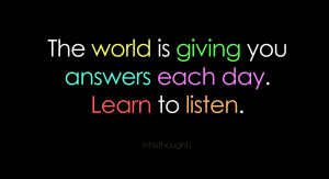Listen Quotes –Listening Quotes – Quote – Listening to Others ...