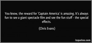 More Chris Evans Quotes