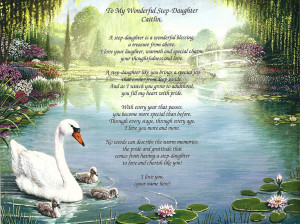 ... Poem Gift for a Wonderful Step-Daughter, Daughter, Sister, Birthday