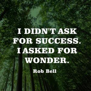 Wondering And Sayings