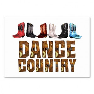 line dance sayings | TEE Line Dance Country Table Cards