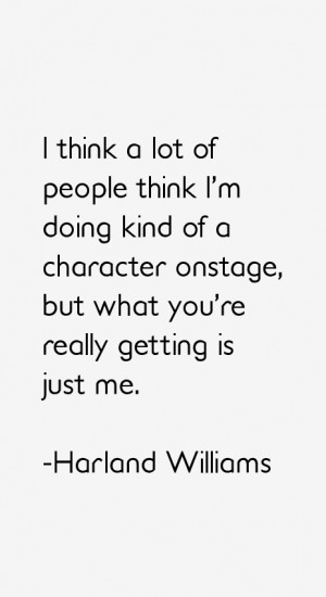 Harland Williams Quotes & Sayings