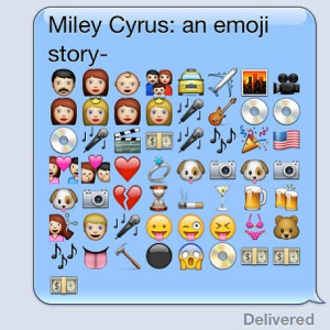Relationship Quotes With Emojis For Instagram Miley cyrus emoji story
