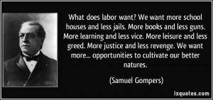 samuel gompers labor unions