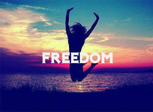 cute, freedom, love, paradise, photography, quote