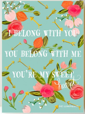 belong with you you belong with me you're my sweetheart