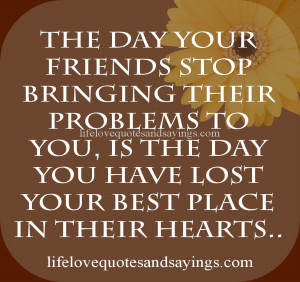 The Day Your Friends.. | Love Quotes And SayingsLove Quotes And ...