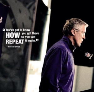 Pete Carroll Quotes