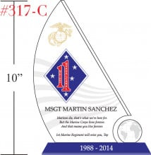 Sample Marine Corps Retirement Quote