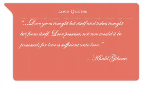 Kahlil Gibran Love Quotes Marriage Wallpapers: Love Poems From Kahlil ...