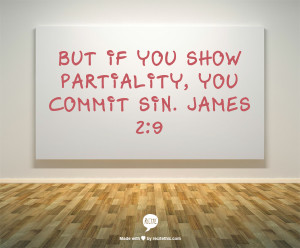 Partiality is, as we have seen, an accompaniment of the existence of ...