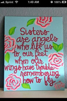 My Big/Little quote spring 11 ♥ Alpha Gamma Delta!