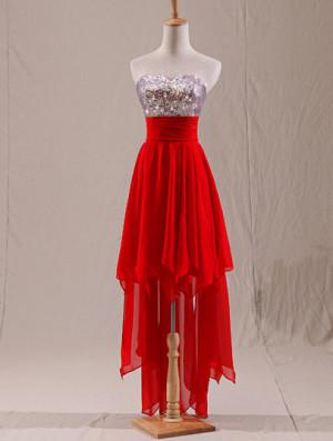 bridesmaid-dress-cotton-dress-girl-dress-red-dress-Favim.com-1043424 ...