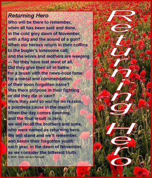 Remembrance Day Poems And Quotes