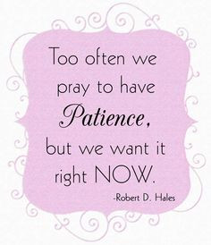 Patience sayings quotes