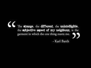 The German theologian Karl Barth, in his commentary on Philippians ...