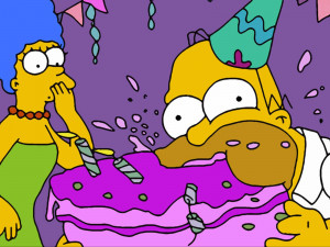 Happy Birthday in Simpson's style!, Happy Birthday! A perfect day for ...