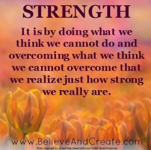 quotes about strength and courage during illness