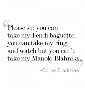 Carrie Quotes via The Coveteur