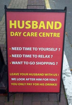 Funny Signs Husband