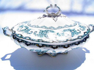 Hanley, Vintage, Dishes Victorian, Dishes Soup, Antiques Servings ...