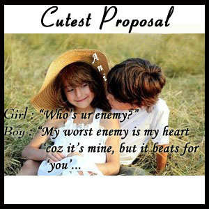 Funny Quotes On Love Proposal : Cute Proposal Quotes. QuotesGram