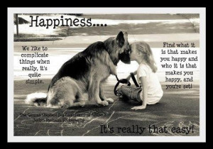 Having a pet is happiness
