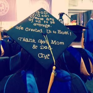 Graduation cap decoration !
