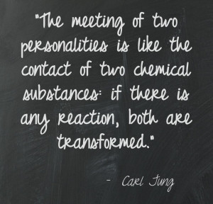 Great quote on personality style from Carl Jung.