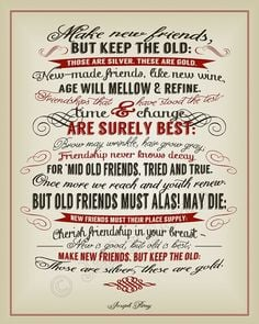 from etsy com new friends old friends joseph parry quote instant ...