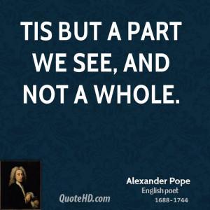 Alexander Pope Wisdom Quotes