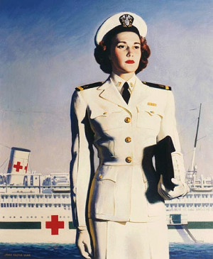 ... World War II Patriotic Posters USA Military Recruiting US Navy Nurse 1