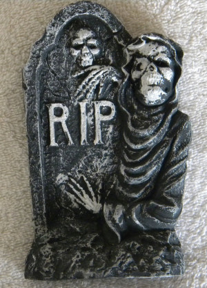 Halloween tombstone 6 by Gothicmamas-stock